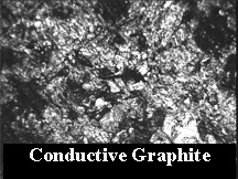 Metallographic conductive compression mounting resins