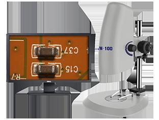 Metallographic stereo microscope