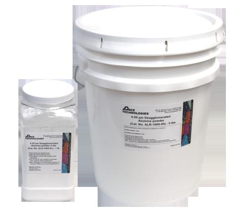 PACE Technologies 0.05 micron deagglomerated electronics graded alumina powder