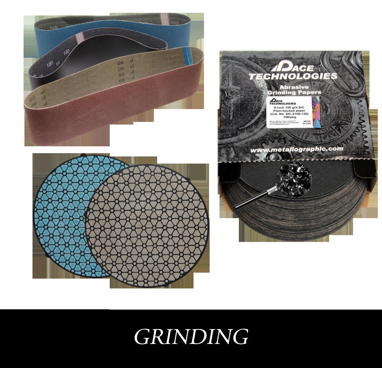 Metallographic polishing consumables