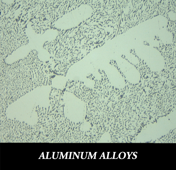 Metallographic sample preparation for aluminum alloys