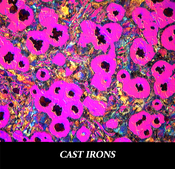 Metallographic Preparation for Cast Irons