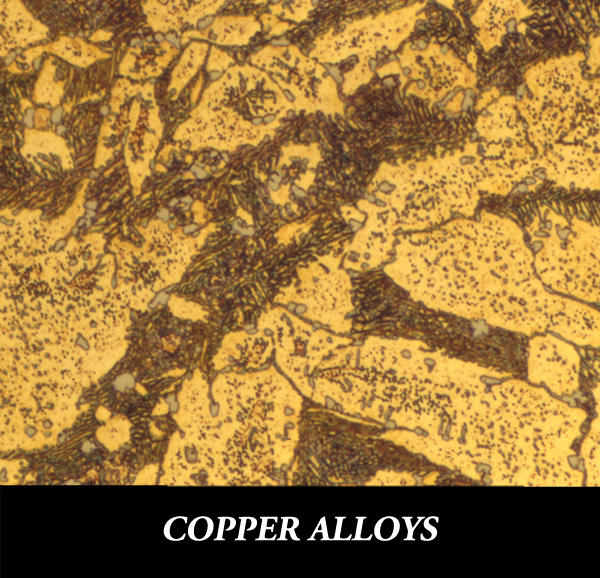 Metallographic specimen preparation for copper alloys