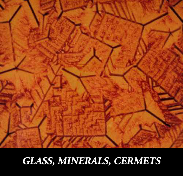 Metallographic Preparation of Glass and Mineral Samples