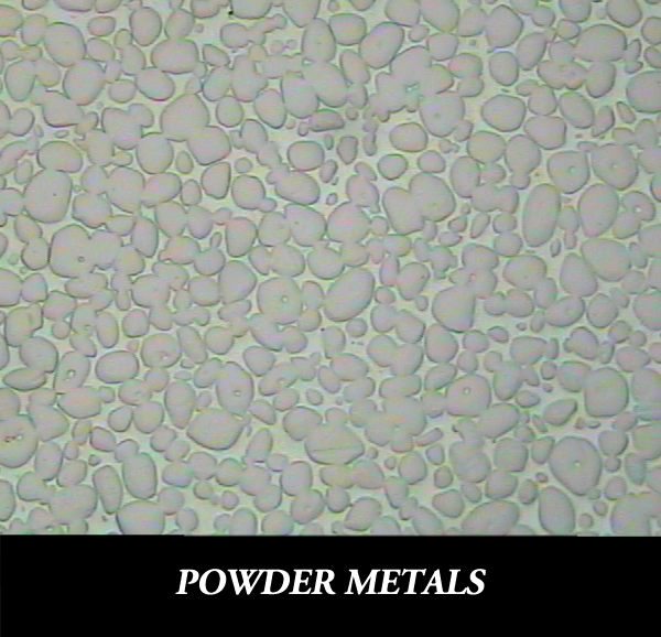 Metallographic Preparation for powder metallurgical samples