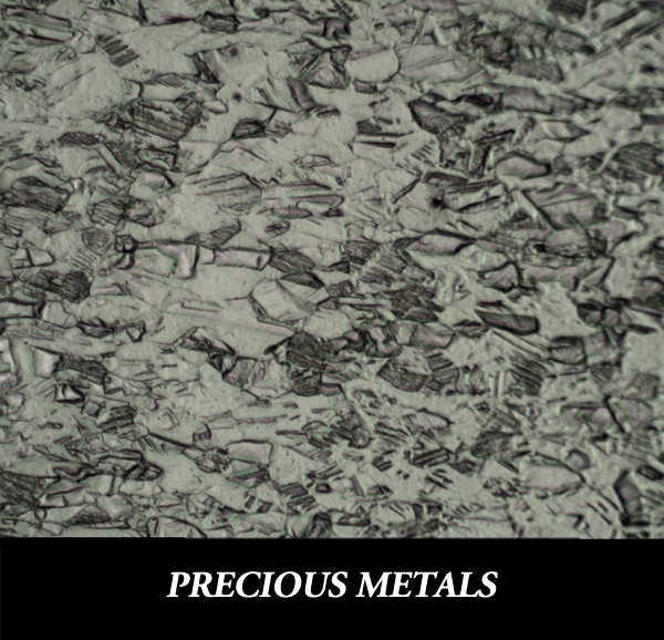 Metallographic Preparation of Precious Metals