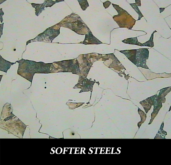 Metallographic Preparation for Soft Steel
