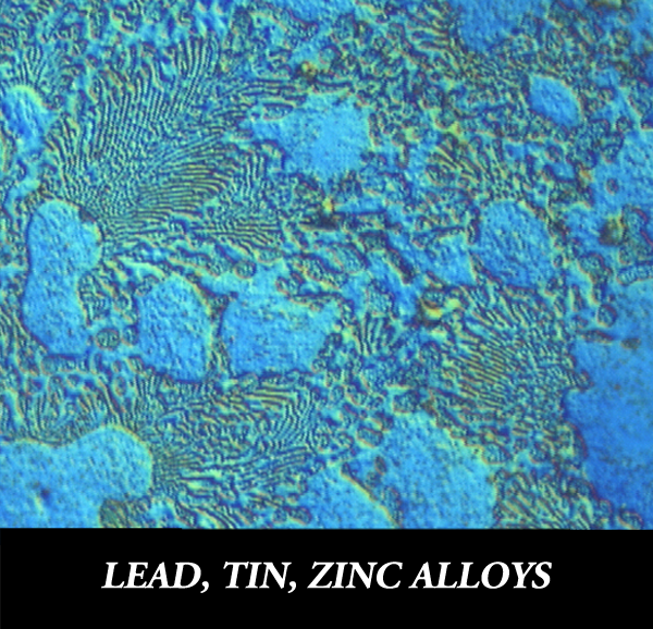 Metallographic preparation for zinc alloys