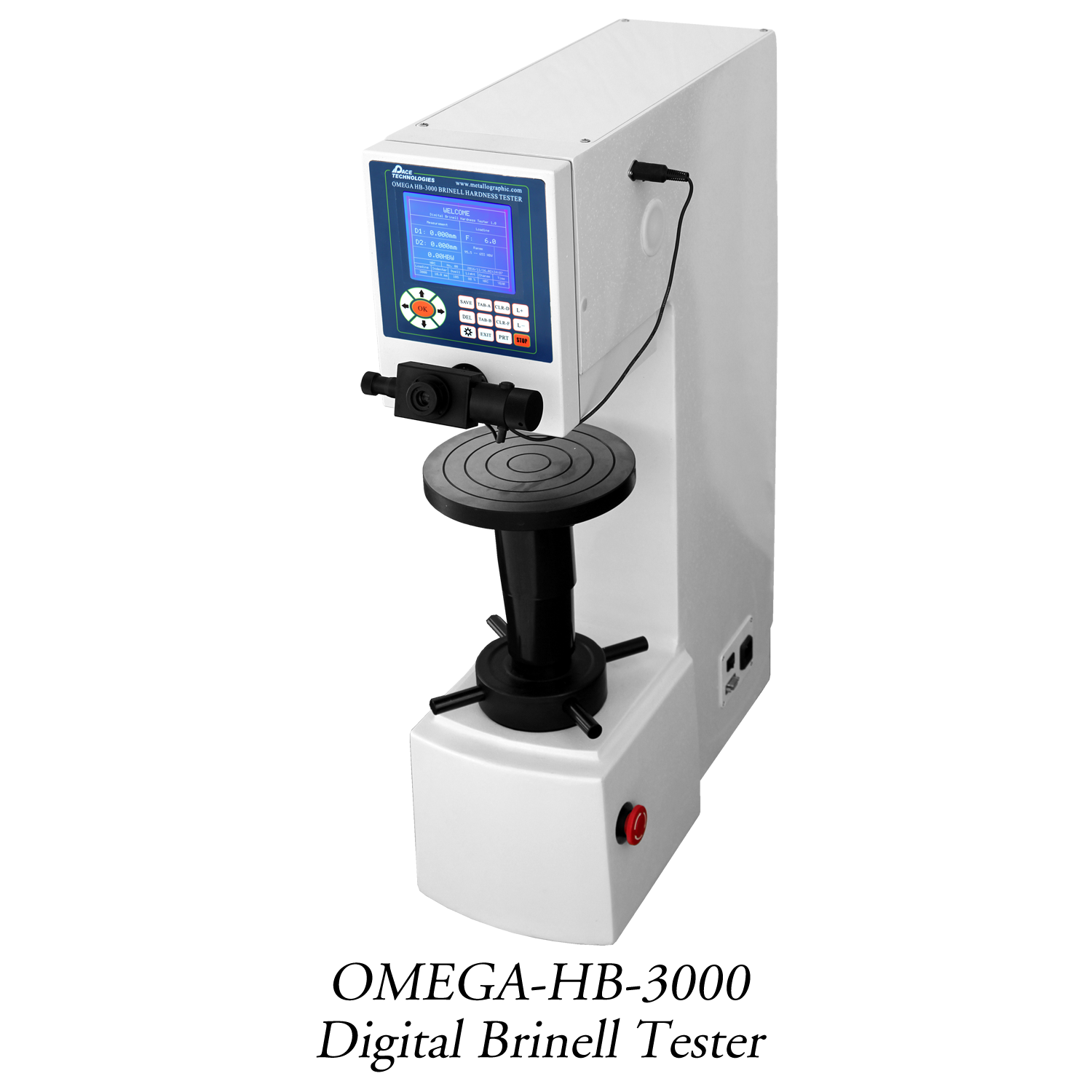 Metallographic OMEGA-DIGI Digital Brinell Hardness Tester