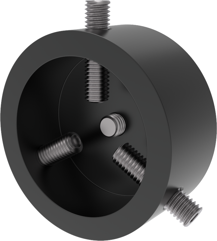 PICO 155 Sample holder for 1.25-inch round and mounted specimens