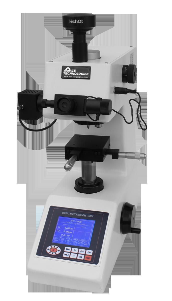 MHV-2000 Microhardness Tester