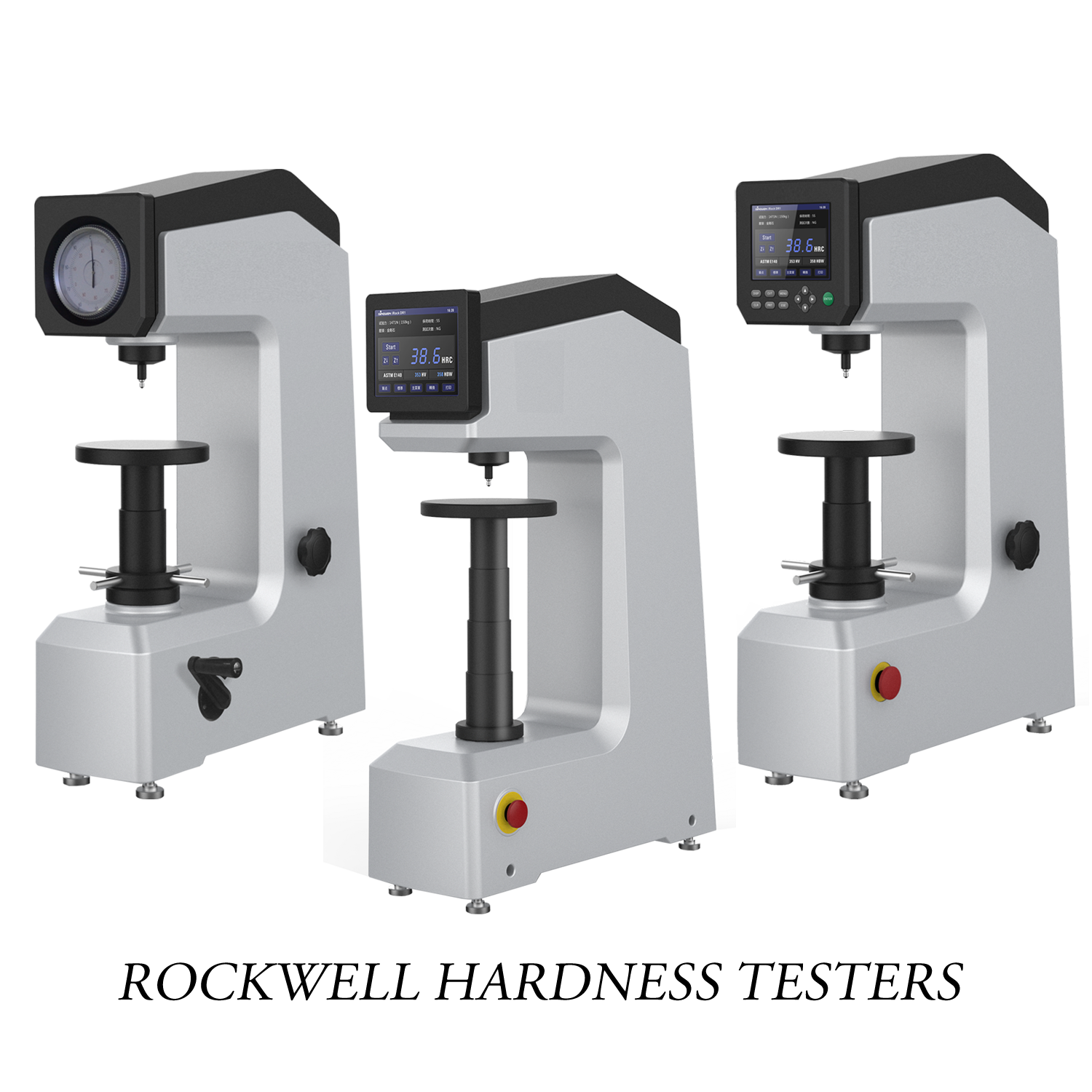 Metallographic Rockwell Testers