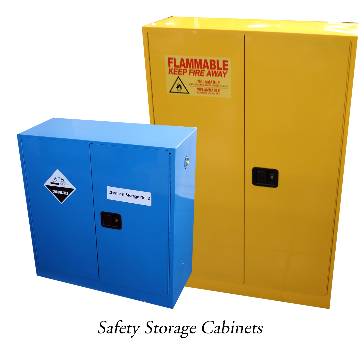 Metallographic safety cabinets