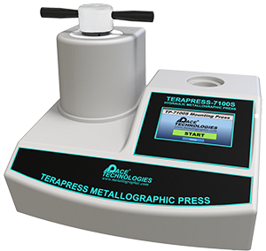 Metallographic economical compression mounting press