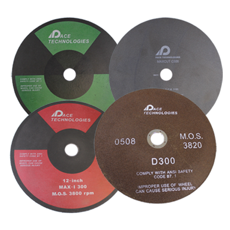 PACE Technologies Abrasive metallographic cutting blades