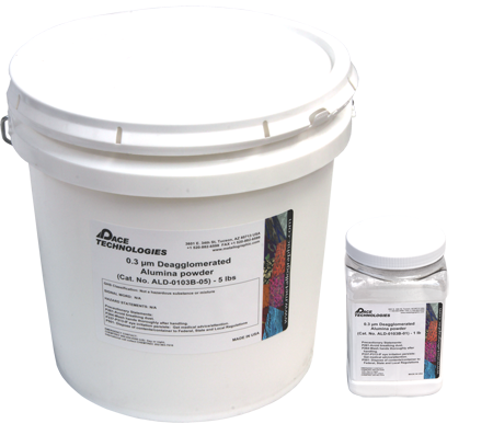 PACE Technologies 0.30 micron deagglomerated electronics graded alumina powder