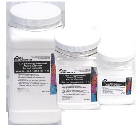 PACE Technologies alumina powders