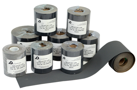 Metallographic Abrasive Rolls for PENTA 5000 Hand Grinder