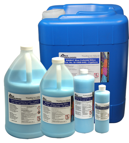 PACE Technologies Metallographic SIAMAT Blue colloidal silica
