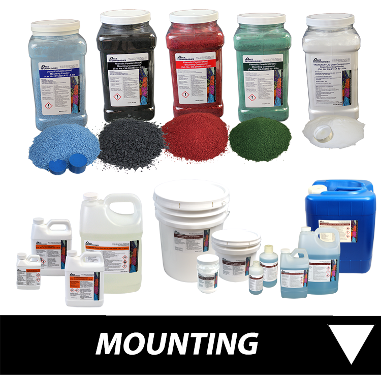 Metallographic Mounting Consumables