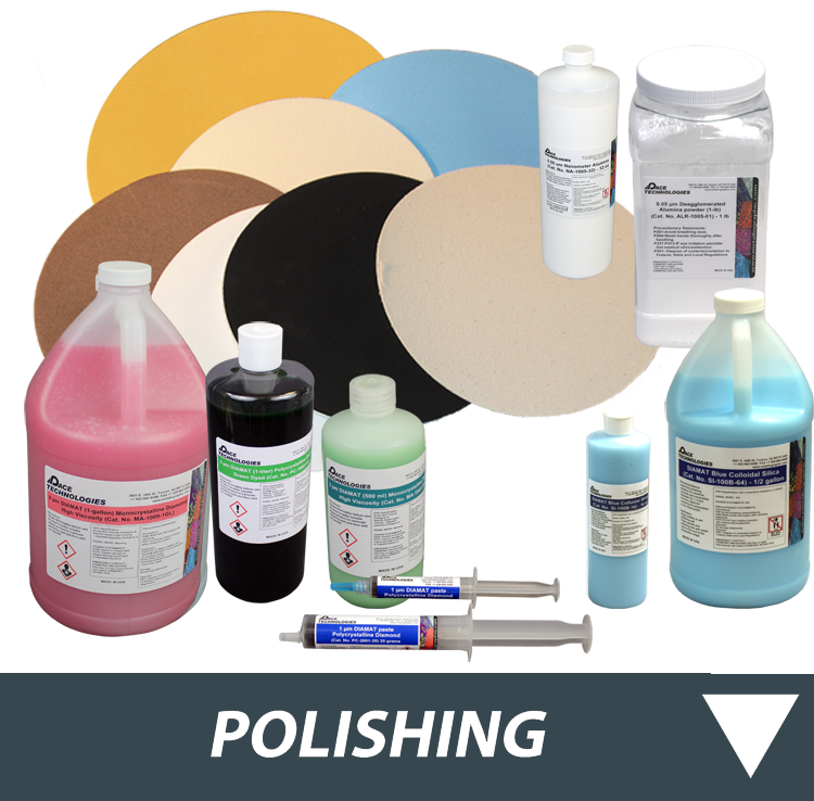 Metallographic Polishing Consumables