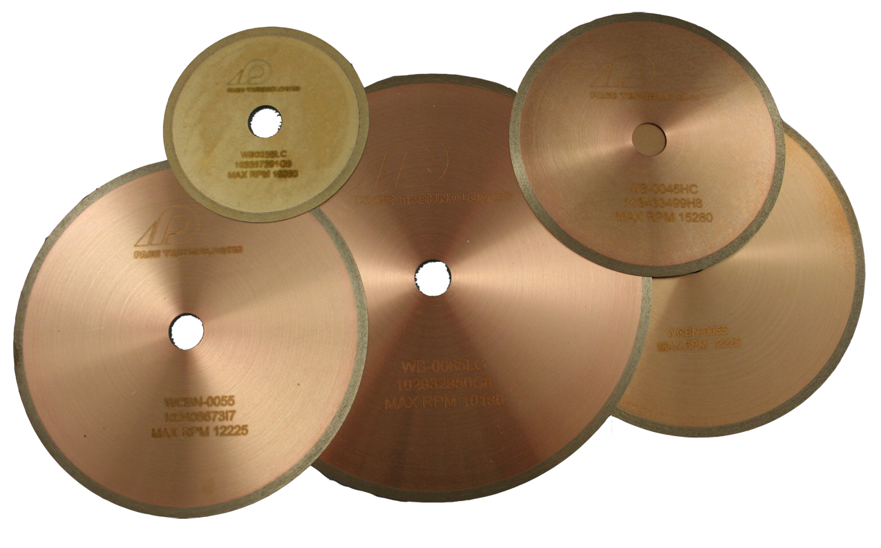Metallographic Precision Wafering Cutting Blades